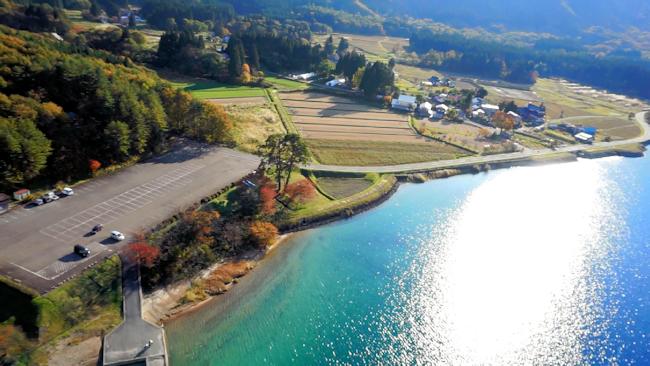 田沢湖ドローン